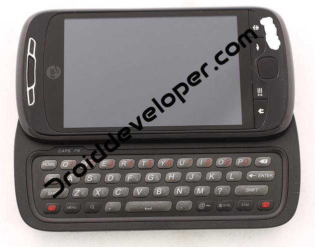 HTC Espresso — вид спереди