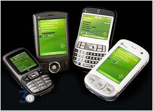 Смартфоны HTC, 2006 год