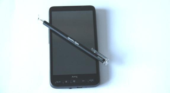 Стилус на HTC HD2