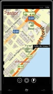 Windows Phone 7 — Bing Maps