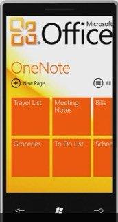 Windows Phone 7 — офис