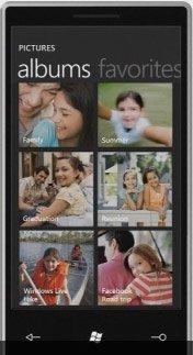 Windows Phone 7 — изображения