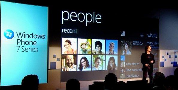 Презентация Windows Phone 7