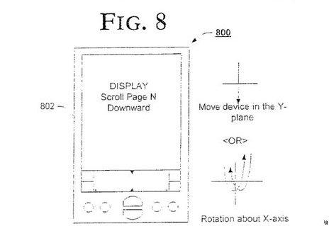 Нашелся патент 2006 года на акселерометр для портативных устройств