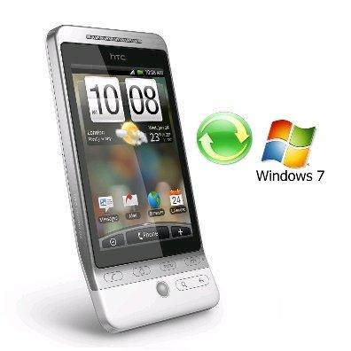 Как правильно синхронизировать HTC Hero и Windows 7