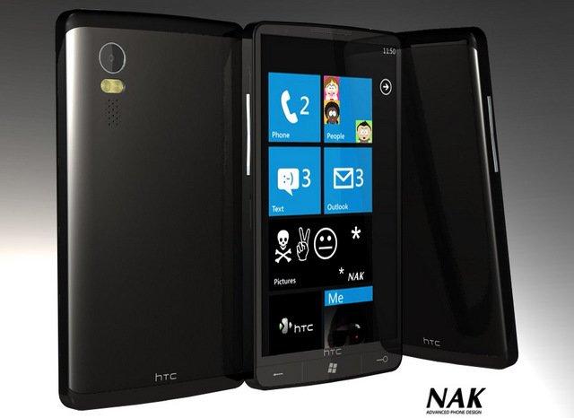 Концепт HTC HD3