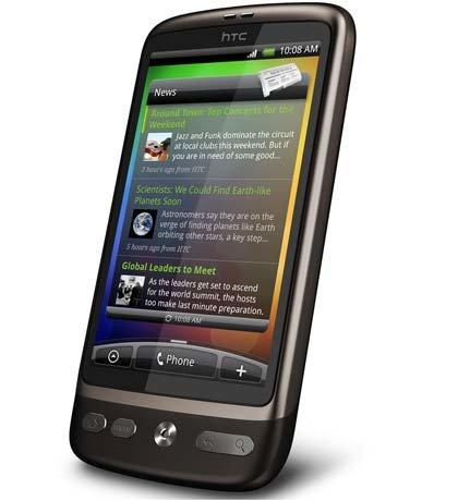 Apple iPhone 3GS против HTC Desire — пользовательский интерфейс