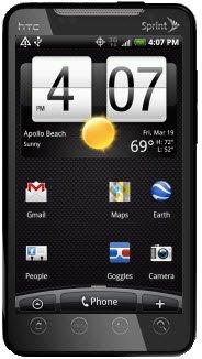 Sprint EVO 4G получит новую версию Android