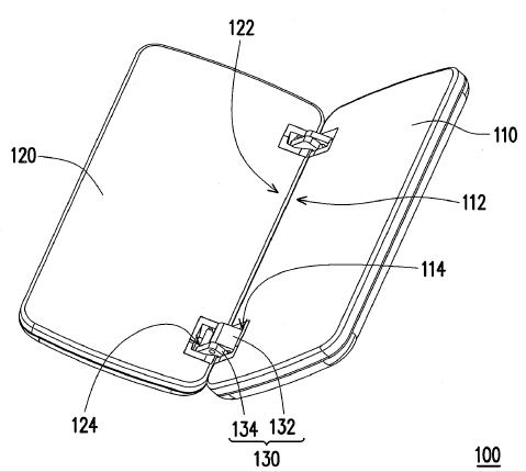 Патент HTC — раскладной механизм