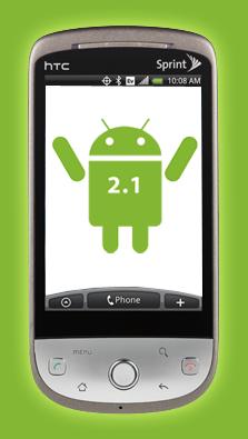 Вышла официальная прошивка Android 2.1 для Sprint Hero