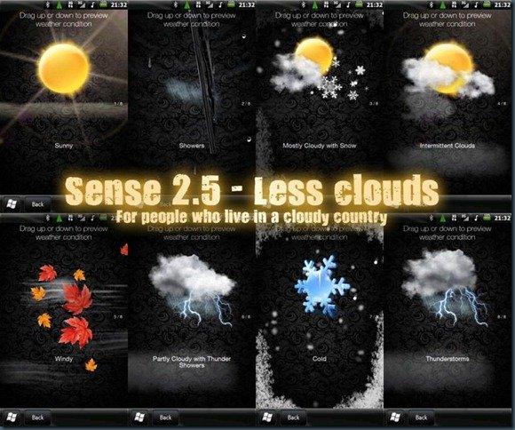 Мод для Sense 2.5 «разгоняет» тучи