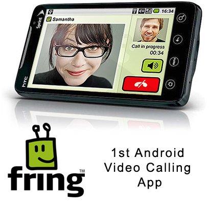 Fring выпустила первое Android-приложение для видеозвонков