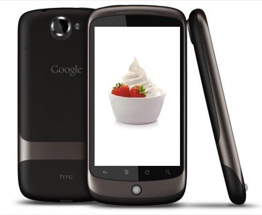 Froyo «добралась» до Nexus One