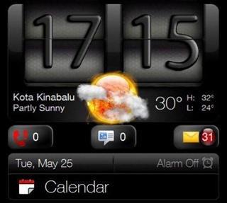 Оригинальные солнце и луна для HTC Sense 2.5
