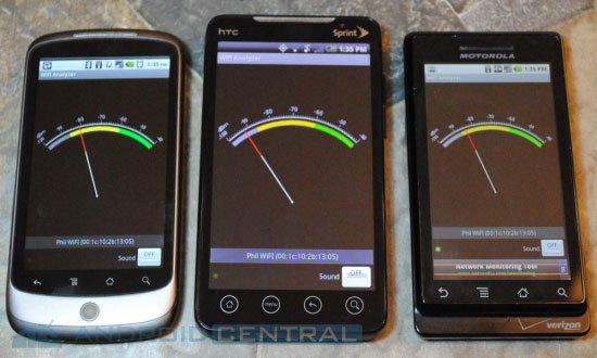 У Sprint EVO 4G проблемы с работой в Wi-Fi сетях
