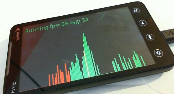 HTC EVO 4G всё же преодолел барьер в 30 кадров в секунду