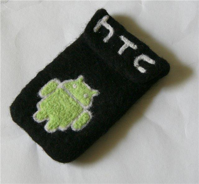 Чехол ручной работы из войлока для HTC — Android