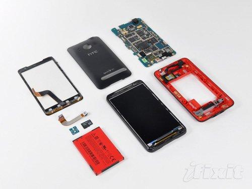 Разборка HTC EVO 4G