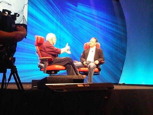 Питер Чоу дает интервью на D: All Things Digital