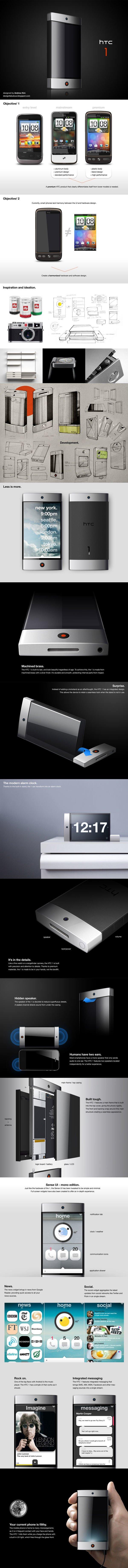 Концепт смартфона HTC 1