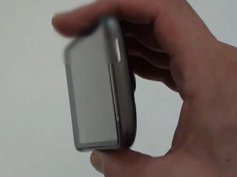 Desire HD в руке