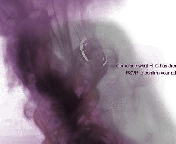 Desire HD на плакате HTC