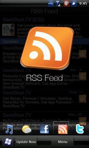 RSS-клиент для HTC Sence