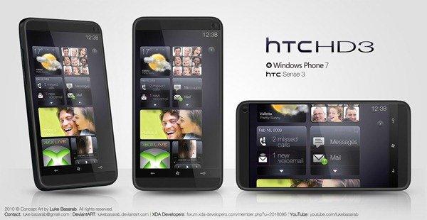 Концепт пользовательского интерфейса HTC Sense 3