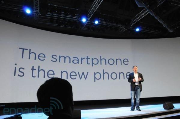 Презентация HTC в Лондоне — Питер Чоу