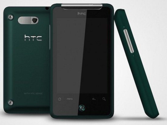 HTC Gratia в зеленом корпусе