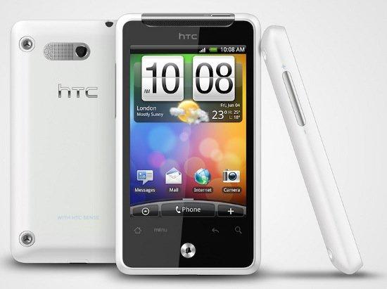 HTC Gratia в белом корпусе