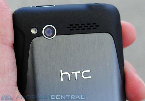 HTC Merge сзади