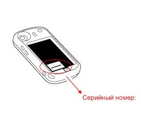 Как узнать серийный номер телефона HTC