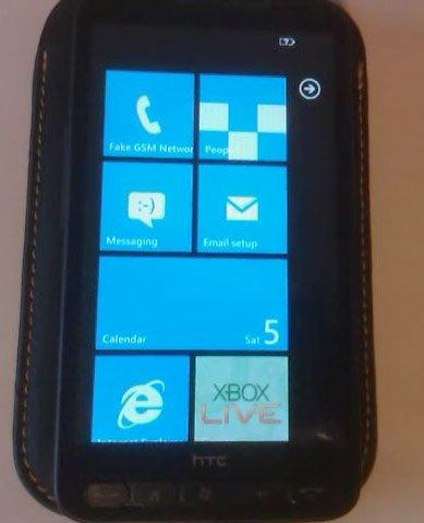 Windows Phone 7 удалось запустить на HD2?