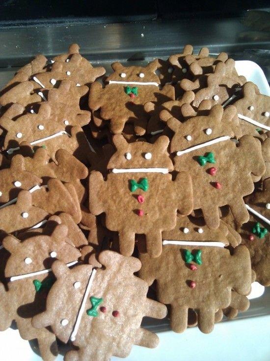 Google угощает печеньем!