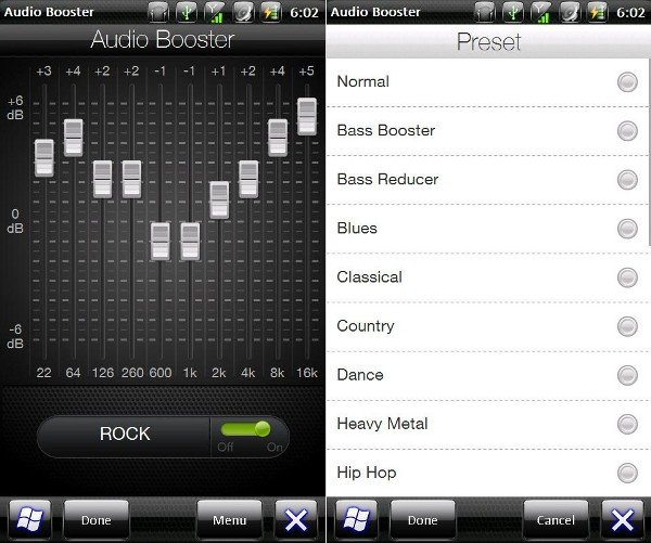 HTC Audio Booster