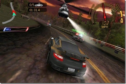 Need for Speed для Windows Phone 7