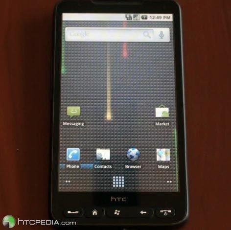 HD2 может работать с Android из оперативной памяти