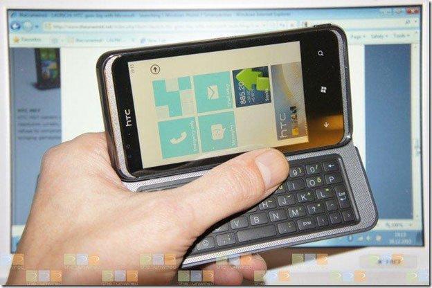 GSM-версия HTC 7 Pro