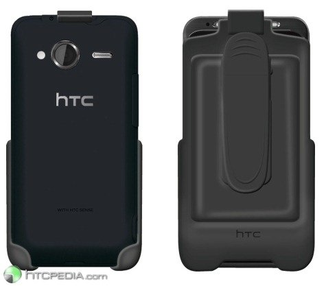 HTC Knight / EVO Shift 4G в креплении