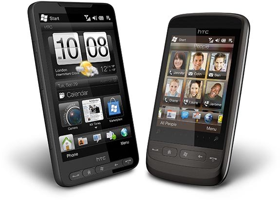 HTC HD2 и HTC Touch2