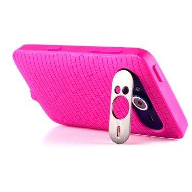 Защитный чехол для HTC HD7 — розовый цвет