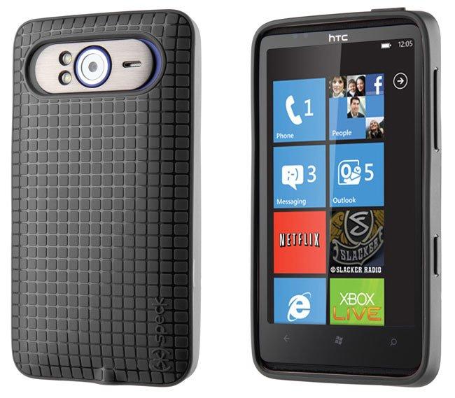 Защитный чехол для HTC HD7 — черный