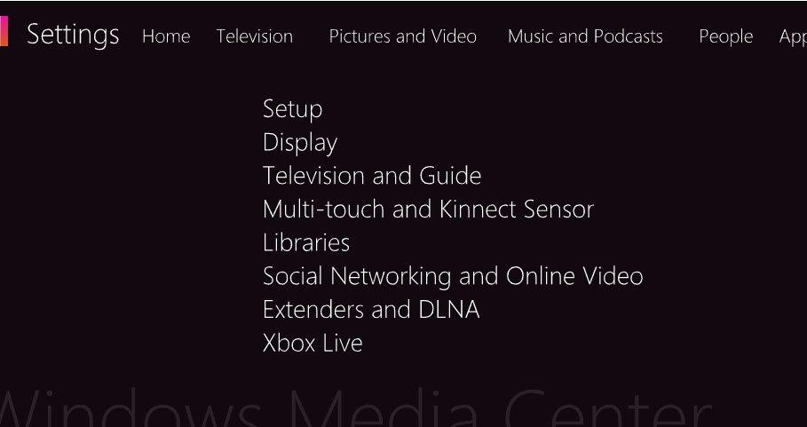 Концепт пользовательского интерфейса для планшета на Windows