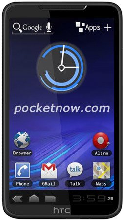 Как может выглядеть бескнопочный смартфон от HTC