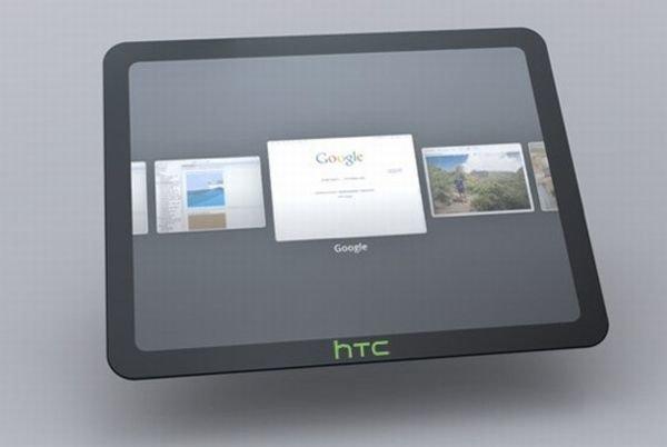 Планшет HTC (концепт)