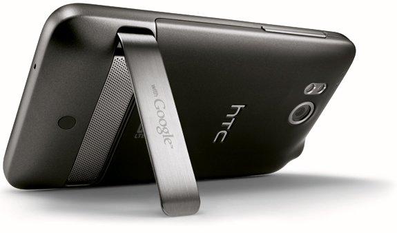 HTC Thunderbolt — вид сзади
