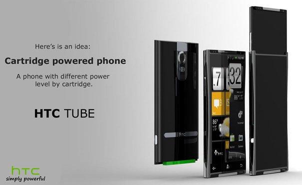 HTC Tube — концепт смартфона со сменной конфигурацией