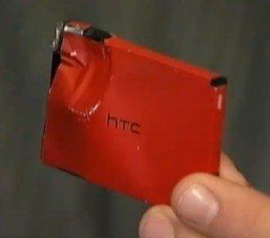 Аккумулятор HTC Droid Incredible, остановивший пулю