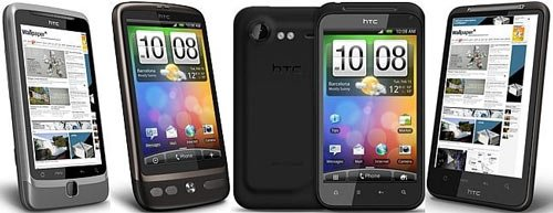 Android-коммуникаторы HTC